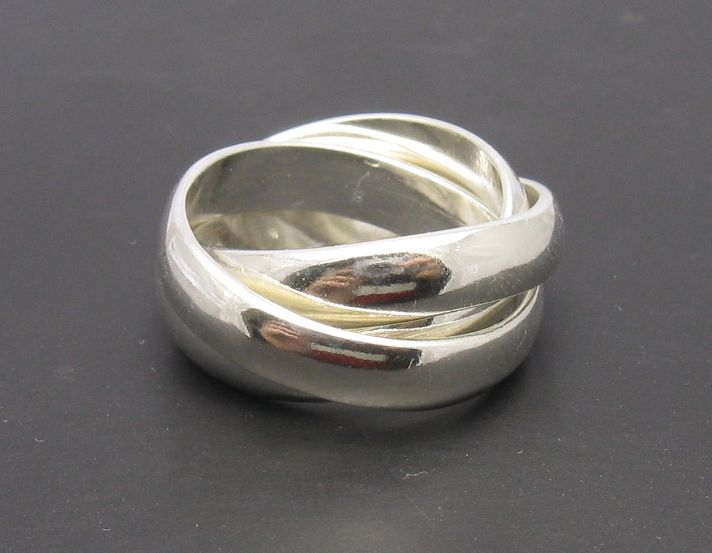 Silver ring - R000642