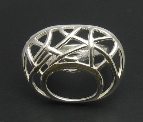 Silver ring - R000646