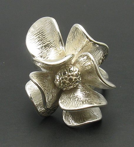 Silver ring - R000677