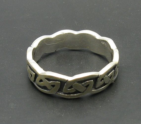 Silver ring - R000689