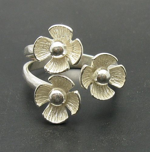 Silver ring - R000691