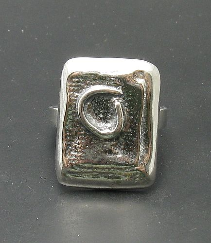 Silver ring - R000734