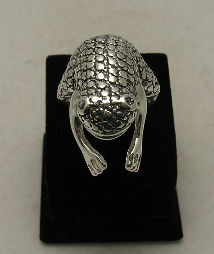 Silver ring - R000752
