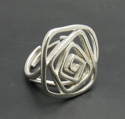 Silver ring - R000760