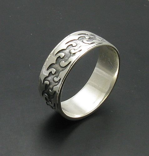 Silver ring - R000783