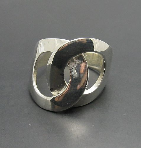 Silver ring - R000815