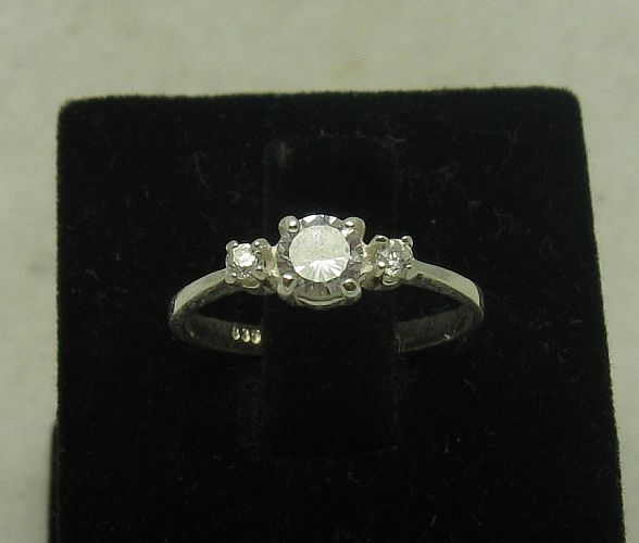 Silver ring - R000839