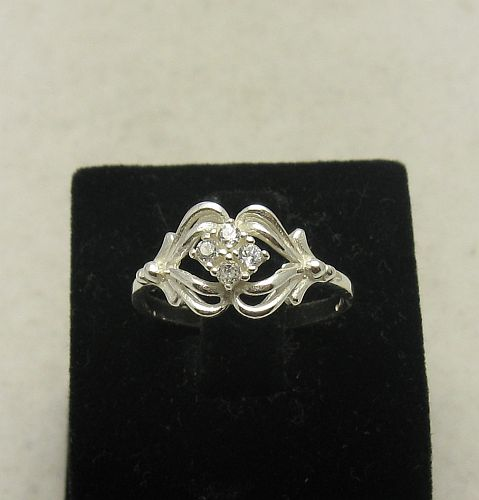 Silver ring - R000854