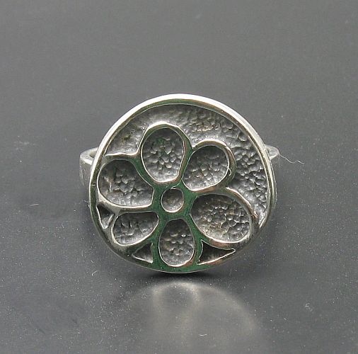 Silver ring - R000873