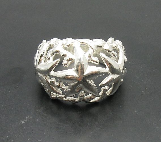Silver ring - R000890