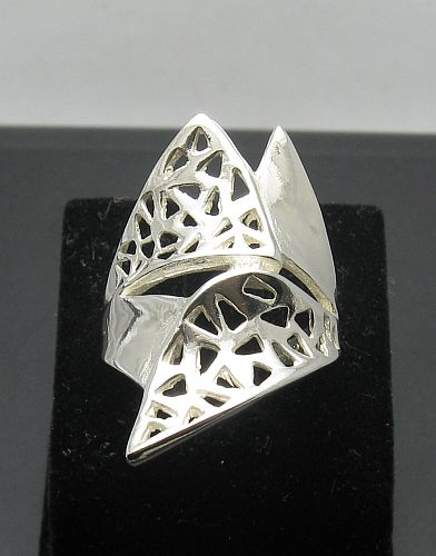 Silver ring - R000914