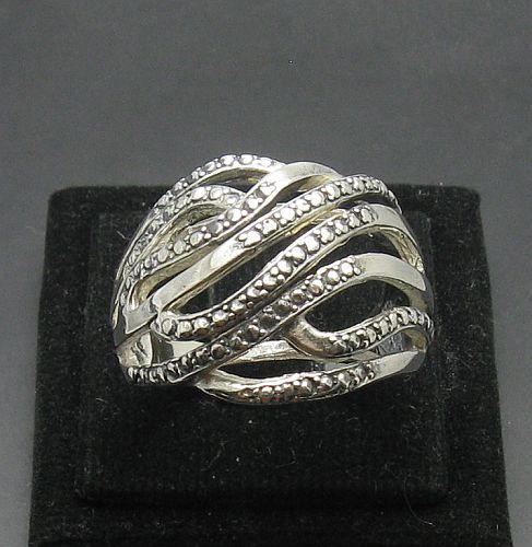 Silver ring - R000930