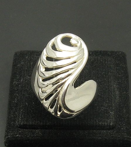 Silver ring - R000975