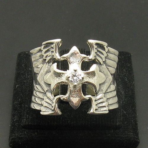 Silver ring - R000982
