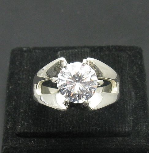 Silver ring - R000983