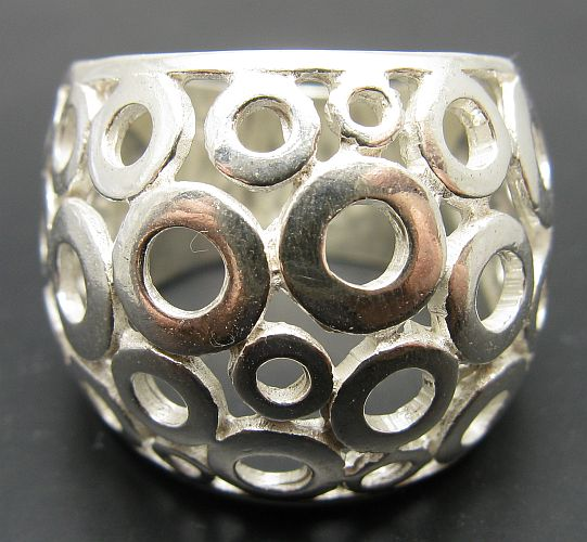 Silver ring - R01018
