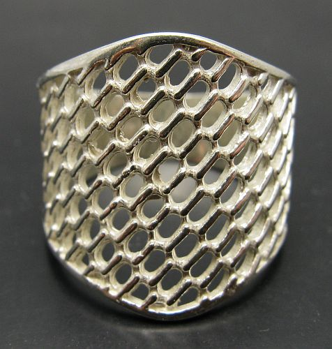 Silver ring - R001019