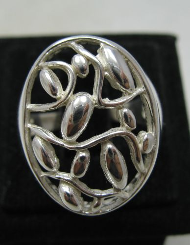 Silver ring - R001076