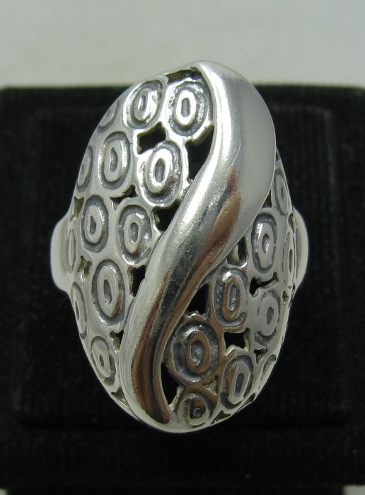Silver ring - R001096