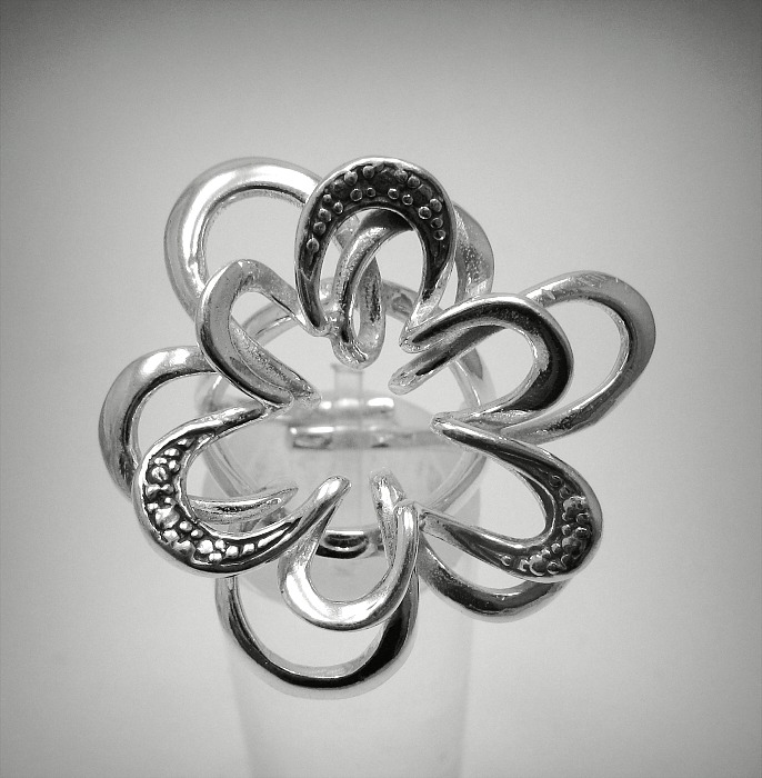 Silver ring - R001266