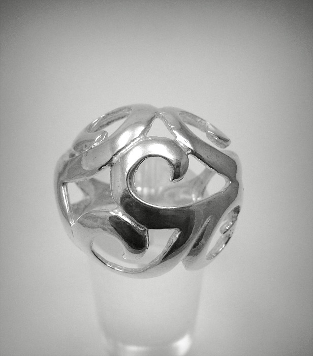 Silver ring - R001294