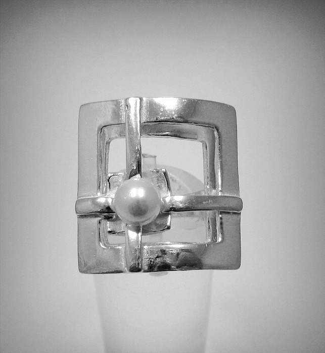 Silver ring - R001299