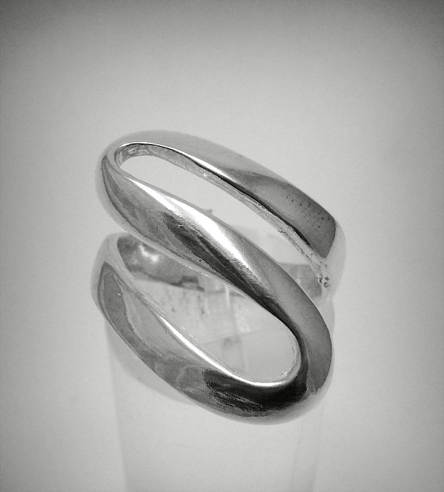 Silver ring - R001303