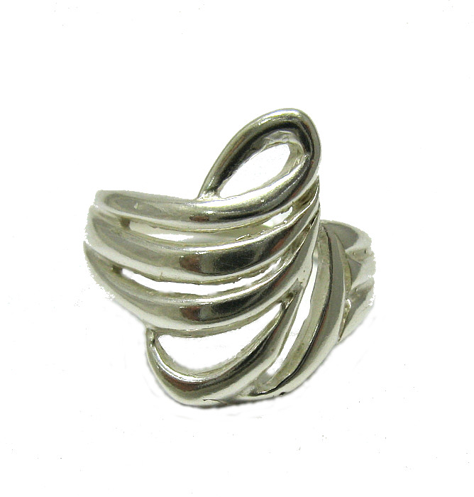 Silver ring - R001326