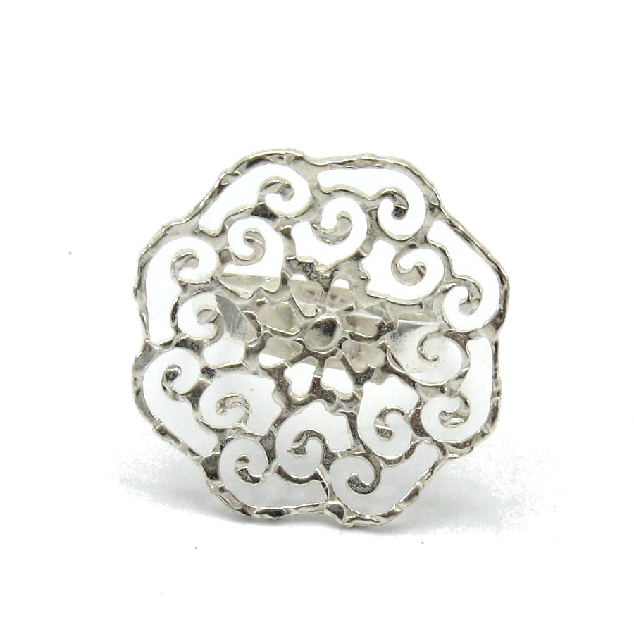 Silver ring - R001396