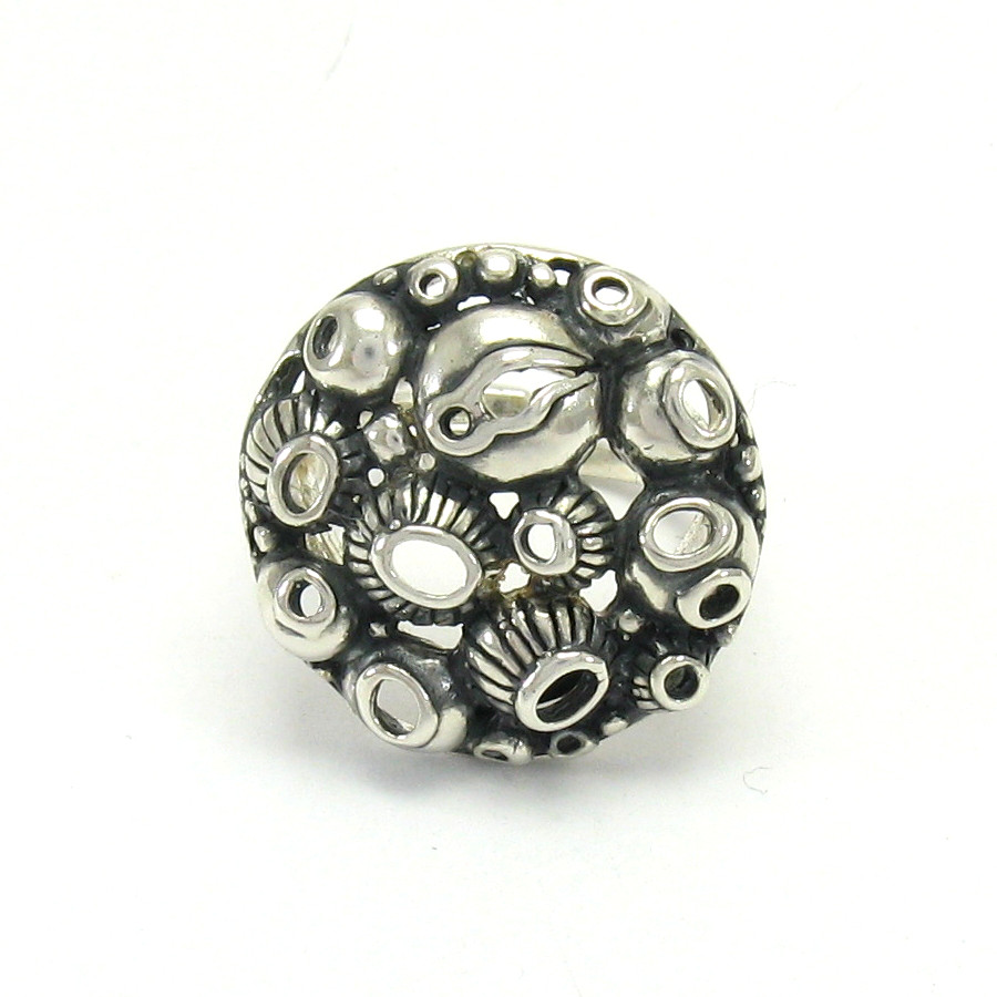 Siilver ring - R001401