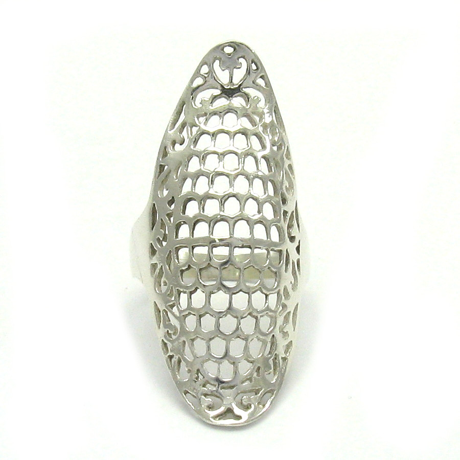 Silver ring - R001406