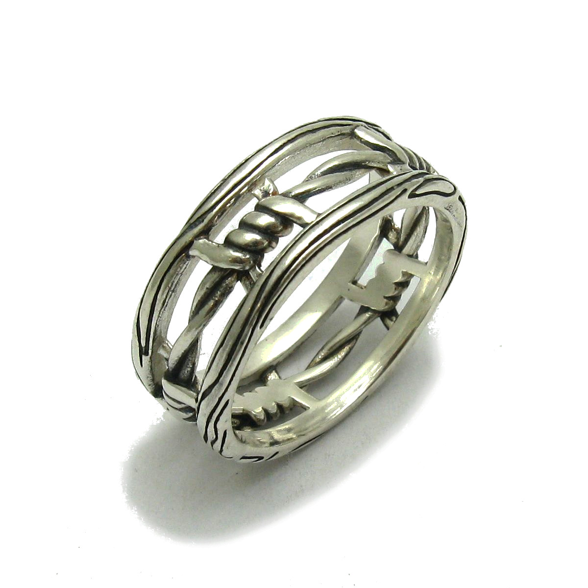 Silver ring - R001736