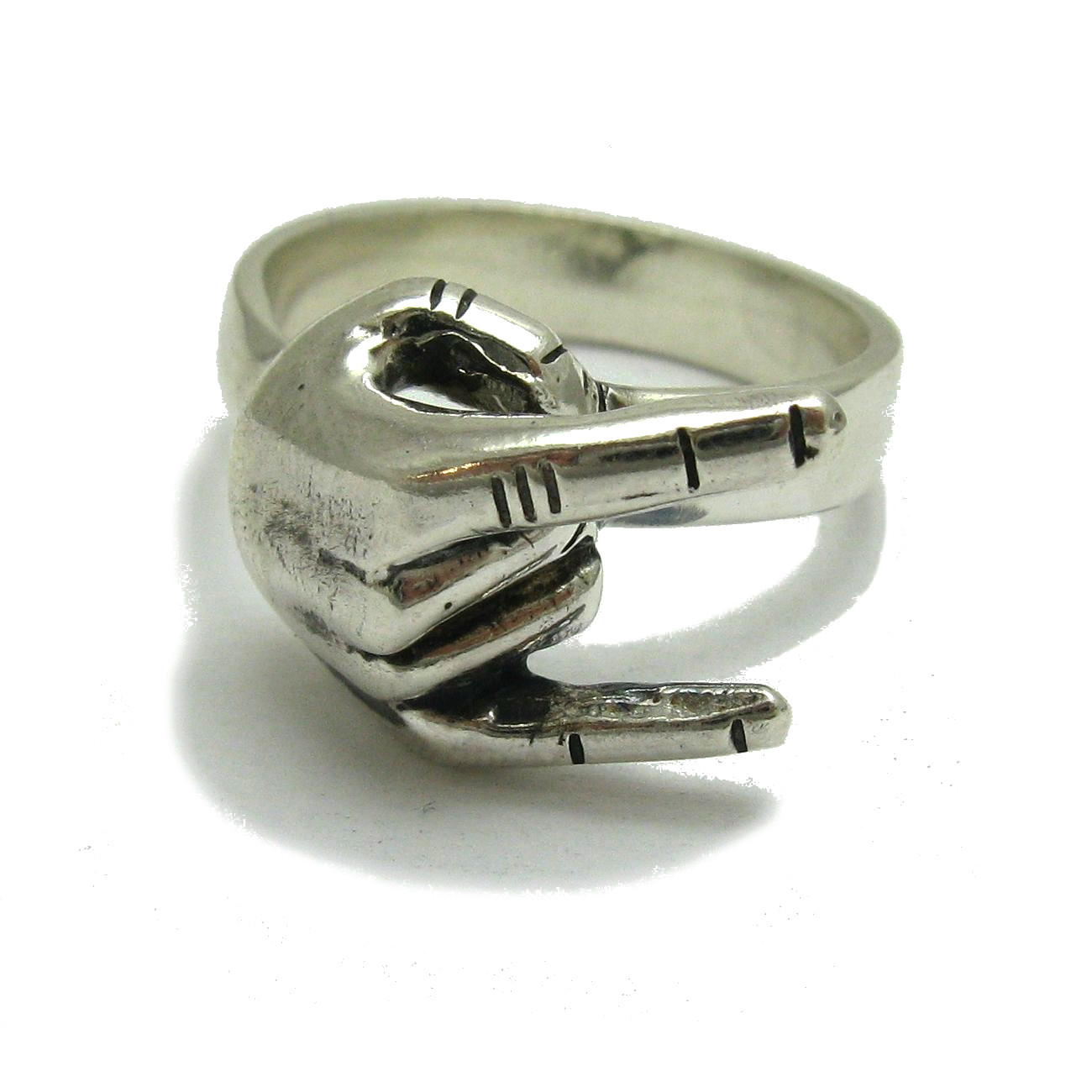 Silver ring - R001768