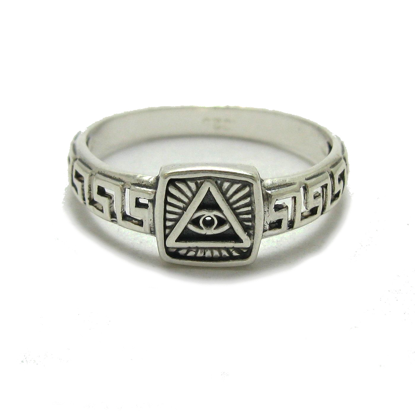 Silver ring - R001784