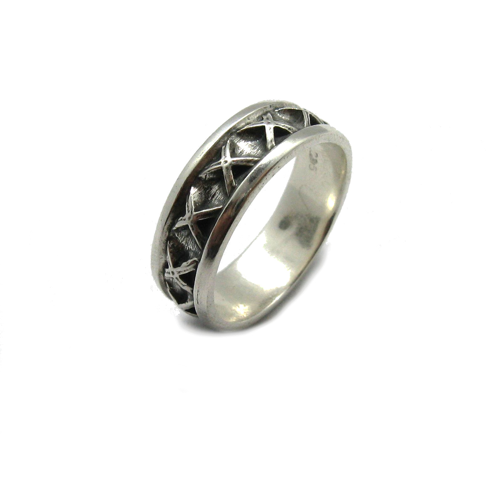 Silver ring - R001857