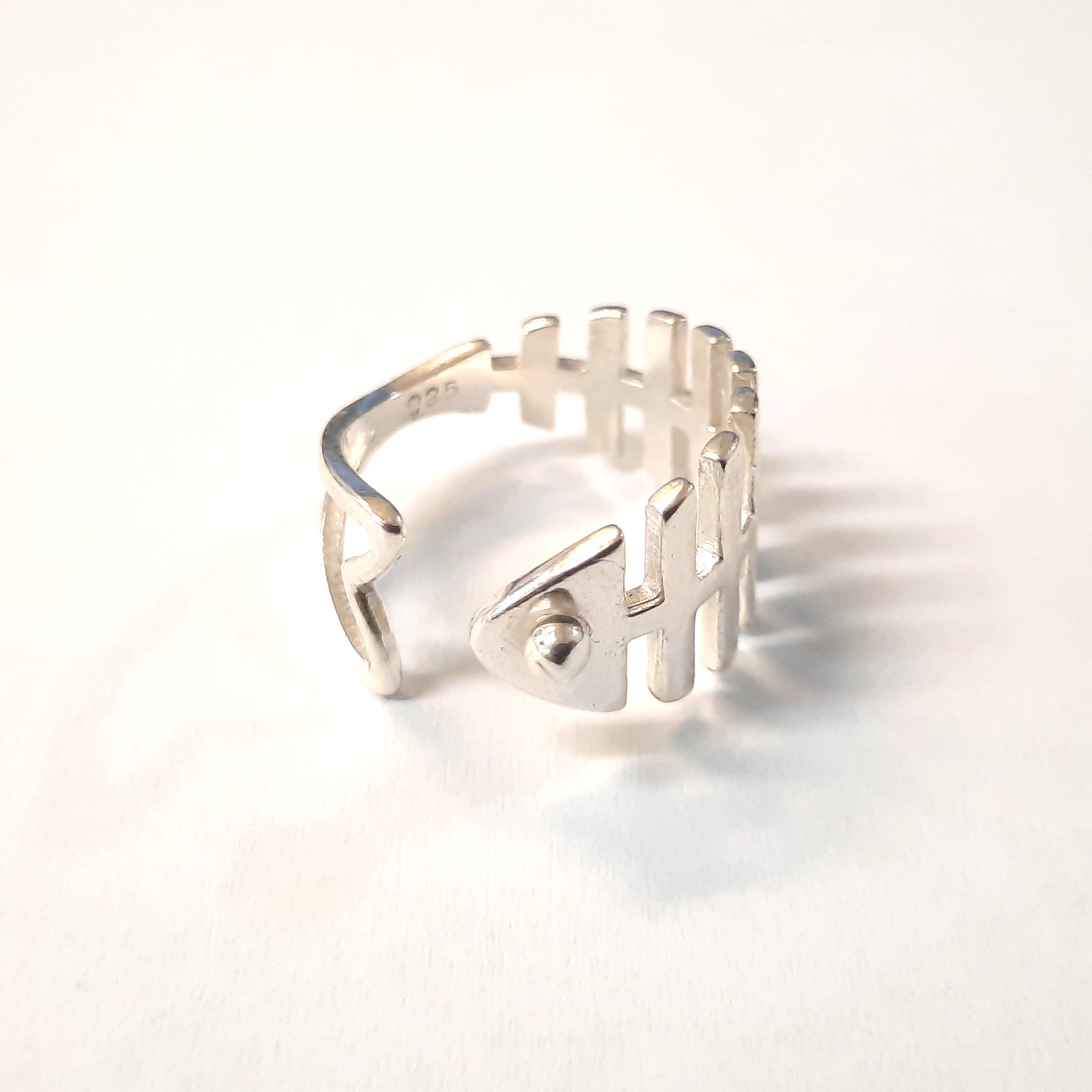 Silver ring - R002190