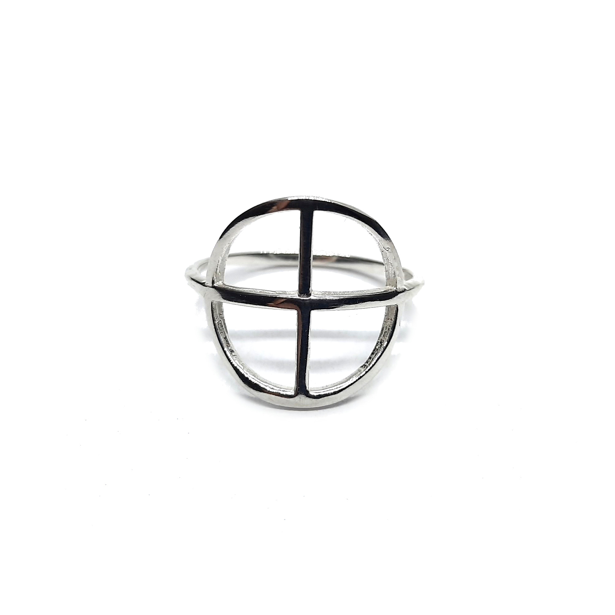 Silver ring - R002226