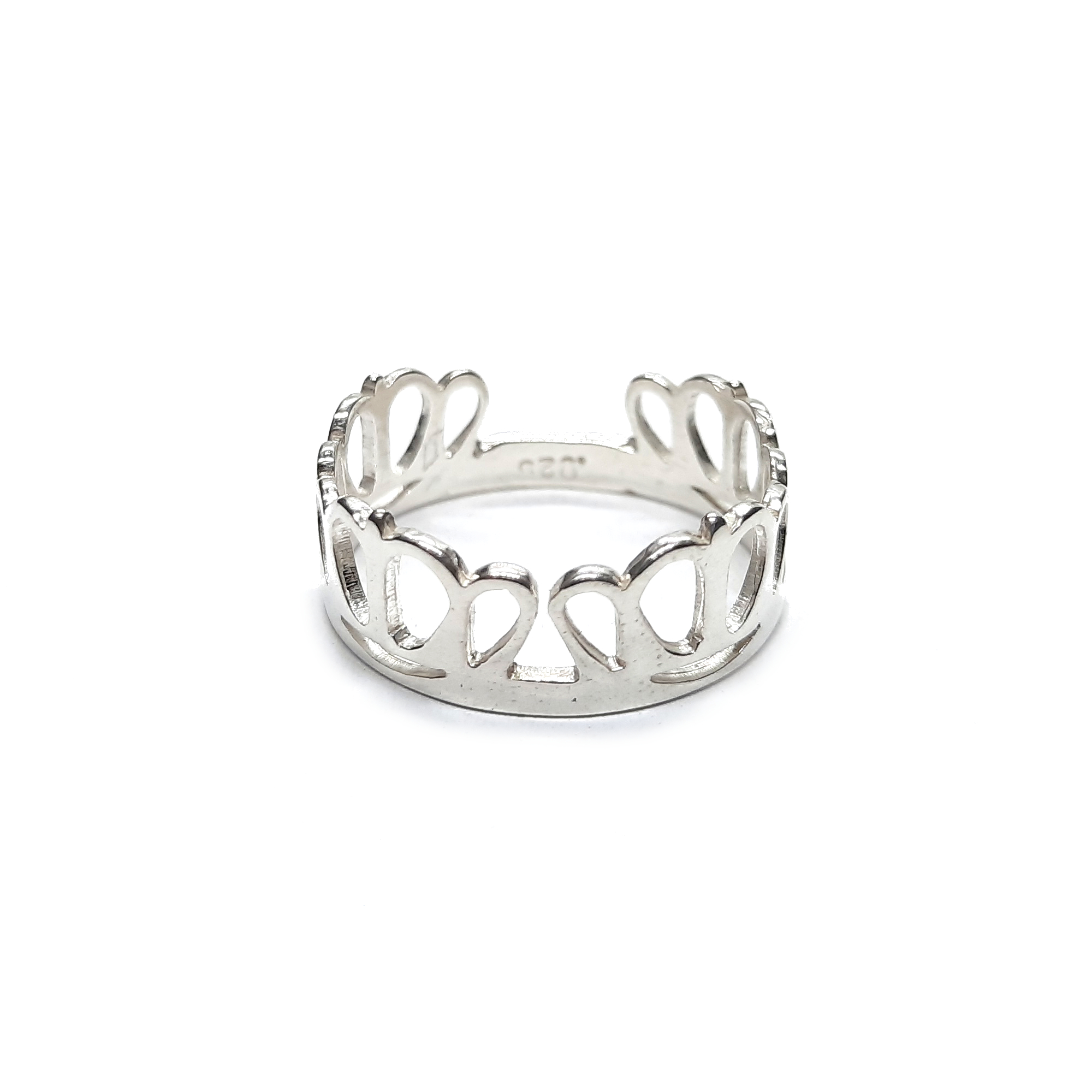 Silver ring - R002231