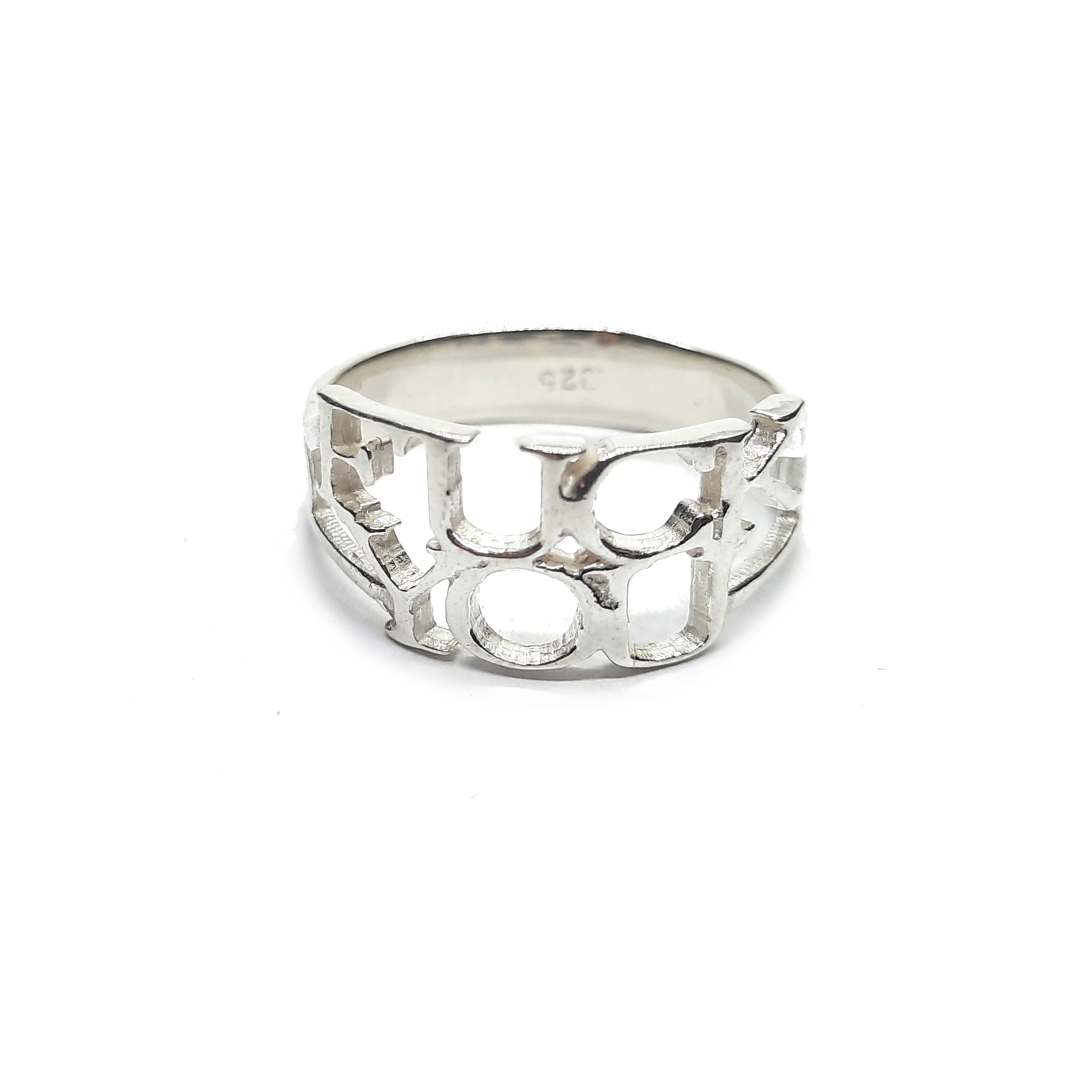 Silver ring - R002241
